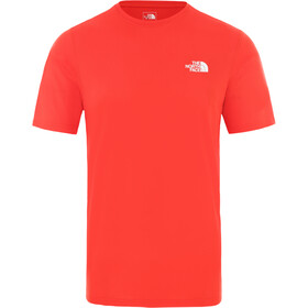 The North Face Flex II S/S Shirt Men, fiery red